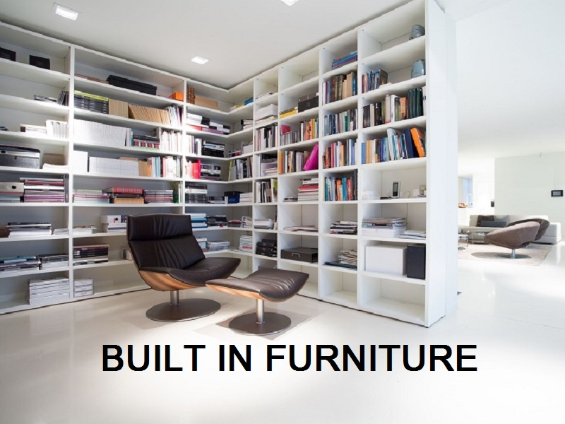 built in furniture